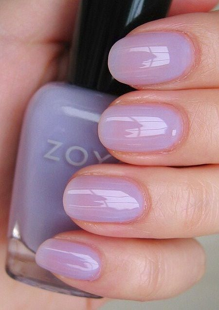 10 Best Zoya Nail Polish Reviews And Swatches - beautiful lavender wash