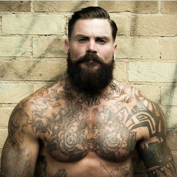 Ink and a great beard