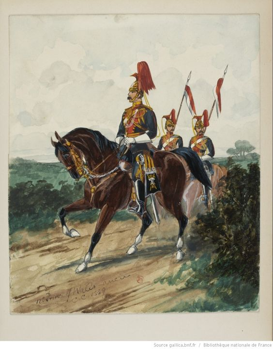 The Uniforms of the british cavalry / by Charles Conroy | Gallica