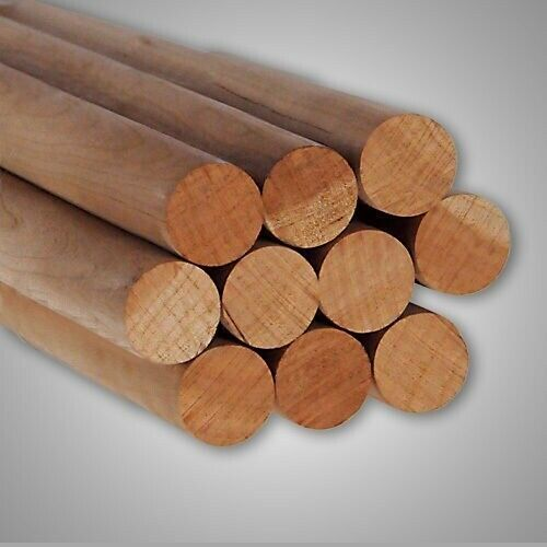 Round Hardwood Dowel Rods 1 1 8 Dia X 36 Long 7318u C C Pink 10pk In 2020 Hardwood 10 Things Dowels