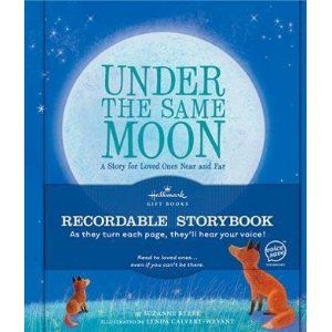 Under the Same Moon- recordable book: Military Deployment, Deployment For Kids, Deployment Kids, Deployment Stuff, Deployments For Kids, Kids Books, Deployment Ideas For Kids, Military Life, Recordable Book