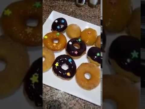 طريقه عمل الدونات اللذيذ و الهش Youtube Tart Recipes Food Desserts