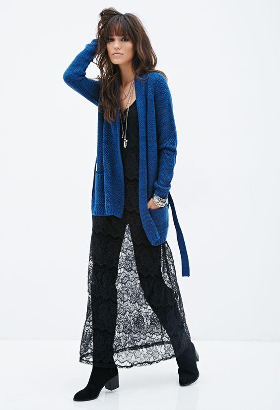 Shawl Collar Cardigan - Shop All - 2000082624 - Forever 21 EU