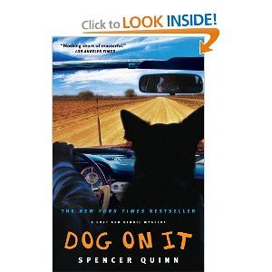 1st in chet and bernie series..mystery tld from perspective of the dog...very good!