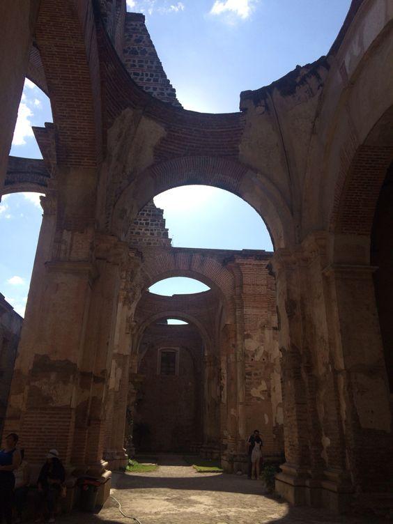 Ruinas de La Catedral, Antigua Guatemala, Guatemala