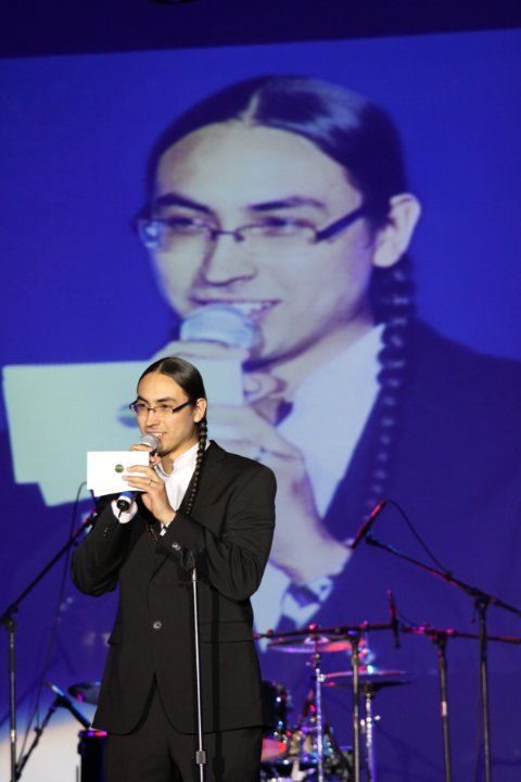 ♥Tatanka Means♥ a special guest presenter at the Indigenous Image Awards at Hard Rock Casino