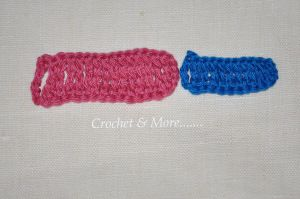 Crochet Stitches Dtr : Crochet Stitches - Tr and dtr Crochet, Basic crochet stitches ...