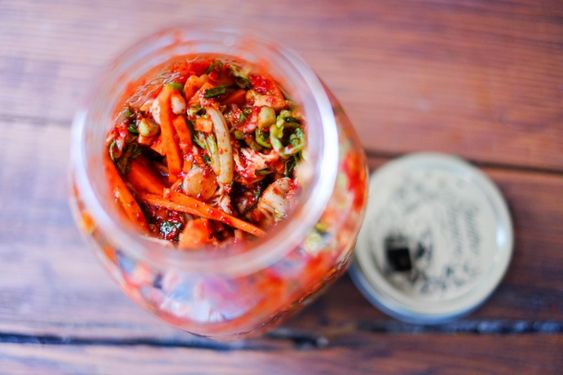 David Chang's recipe for Kimchi, Ready for Fermentation. Momofuku's recipe for paechu (cabbage) kimchi.