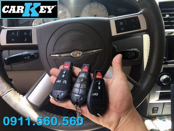 Chìa Khóa Remote Xe Chrysler 300c 2010