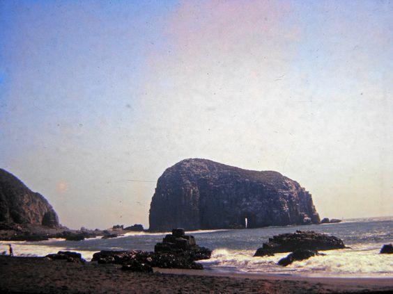 Constitución, Piedra de la Iglesia desde Playa Chica.