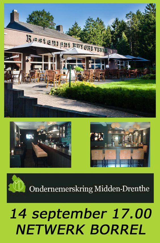 In plaats van een netwerk ontbijt op de tweede woensdag van de maand houdt de Ondernemerskring Midden-Drenthe in september een borrel. http://koopplein.nl/middendrenthe/6521686/netwerk-borrel-van-de-ondernemerskring-midden-drenthe.html