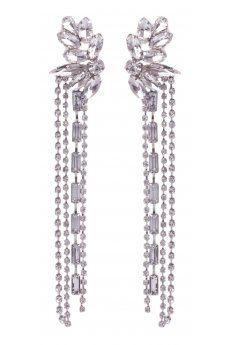 Crystal Chain Earring ($12.95) from colettehayman.com.au