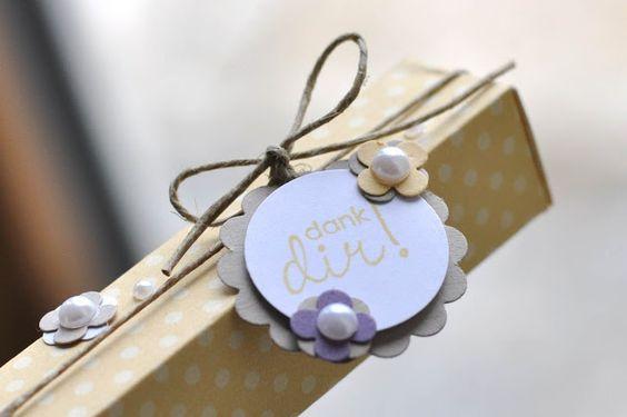 cute tag and box