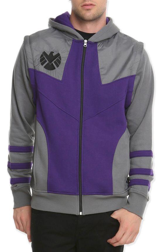 Hawkeye zip hoodie