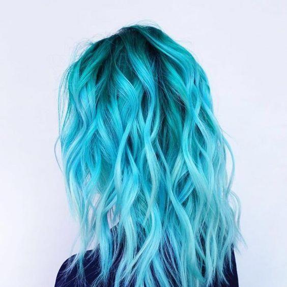 58 Fabulous Hair Color Blueombre Light Hair Color Cool Hair