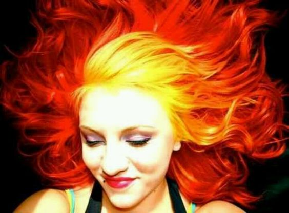 Fire hair, so pretty