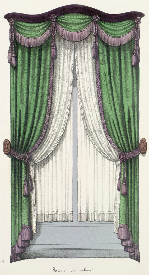 Directoire French Empire Window Treatments French And
