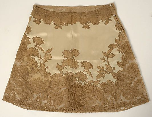 Panties Date: 1926 Culture: probably French Medium: synthetic, cotton Dimensions: Length: 18 in. (45.7 cm) Credit Line: Gift of Joan Van Raalte Hellinger, 1975 Accession Number: 1975.338.2