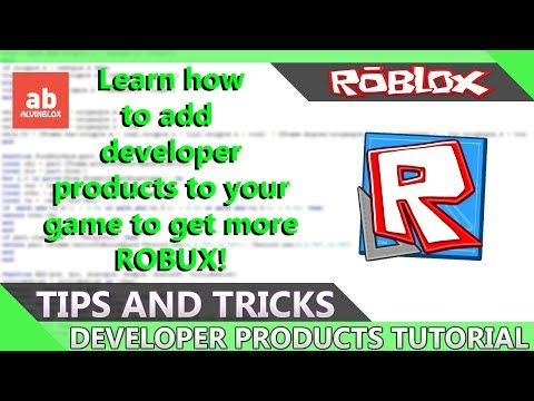 4 Roblox Developer Products Tutorial Learn How To Add Developer