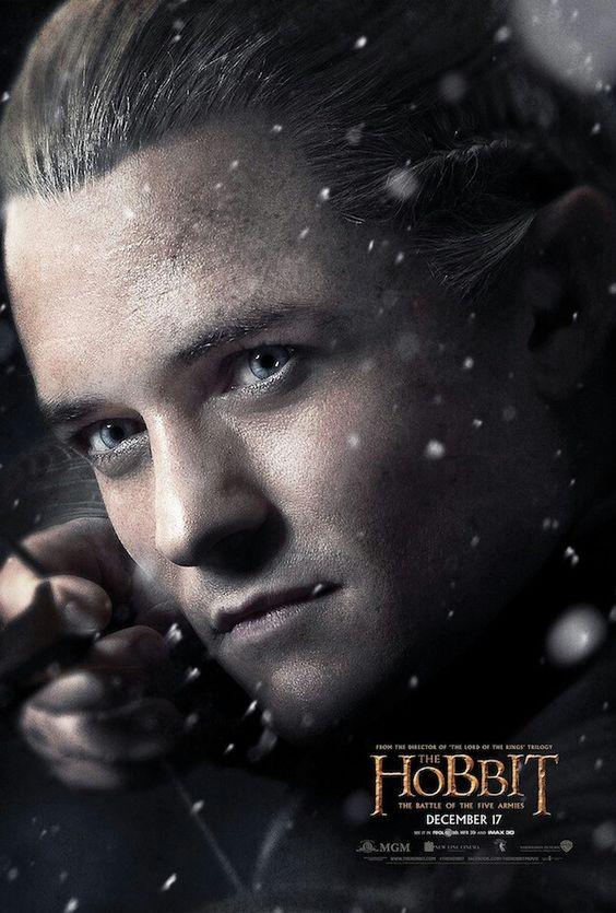 New BotFA poster featuring Legolas!!! <3