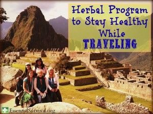 Got any travel plans coming up? Or maybe you have a child doing an international study abroad program or humanitarian trip? Our own resident Master Herbalist Rebecca Potter outlines an effective herbal program that has kept her healthy during her many international adventures!