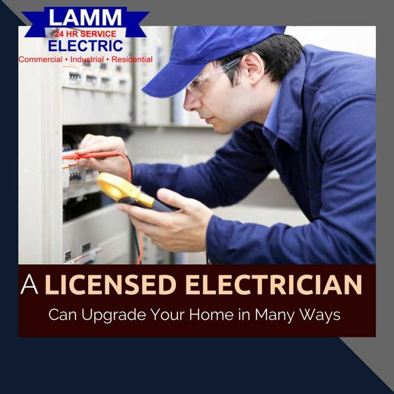 A Licensed Electrician Can Upgrade Your Home in Many Ways