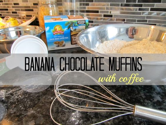 Banana chocolate, Chocolate muffins and Easy summer recipes on ...