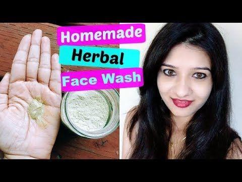 Diy Herbal Face Wash In Hindi Homemade Natural Face Wash How To Make Face Wash At Home Youtube Herbal Face Wash Natural Face Wash Face Wash