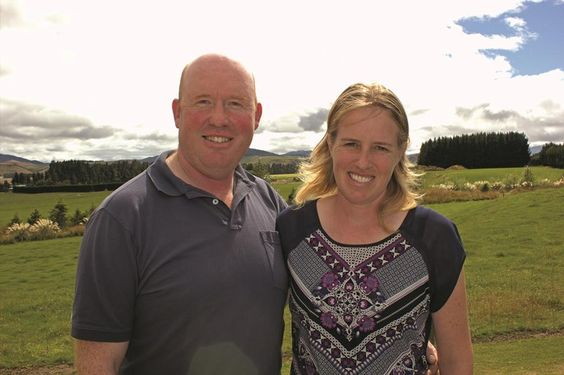 "Sheep and dairy farmers Robert and Anna Kempthorne summarise their industry-leading operation drivers with ""4Ps"": Partnership, Profit, People and Pride."
