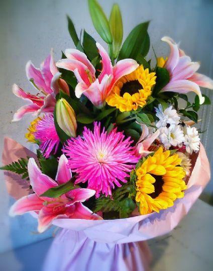 Ramos de flores para regalar y enviar a un hotel en Zamora