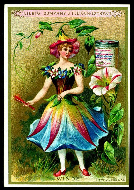 «Реклама — двигатель торговли»: уникальные цветочные карточки - Ярмарка Мастеров - ручная работа, handmade