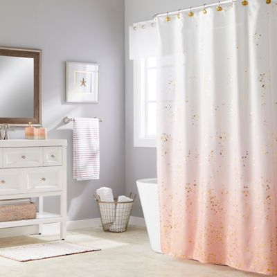 The Bright Colors Of The Saturday Knight Splatter Shower Curtain
