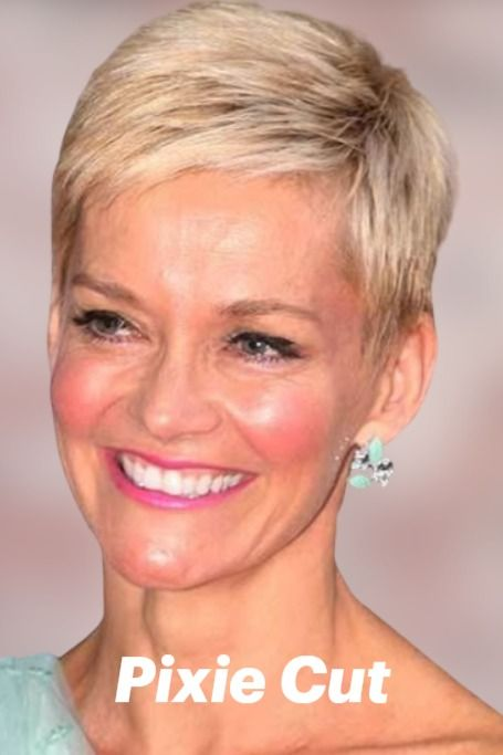 Pin On Pixie Hairstyles For Older Women