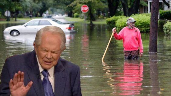 Pat Robertson Warns: God Will Flood All 50 States If 'The Gays Keep Getting Married'