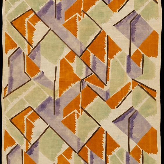 #wallpaperwednesday #omegaworkshops #vanessabell #repeat #pattern #1913 #wallpaper #fabric