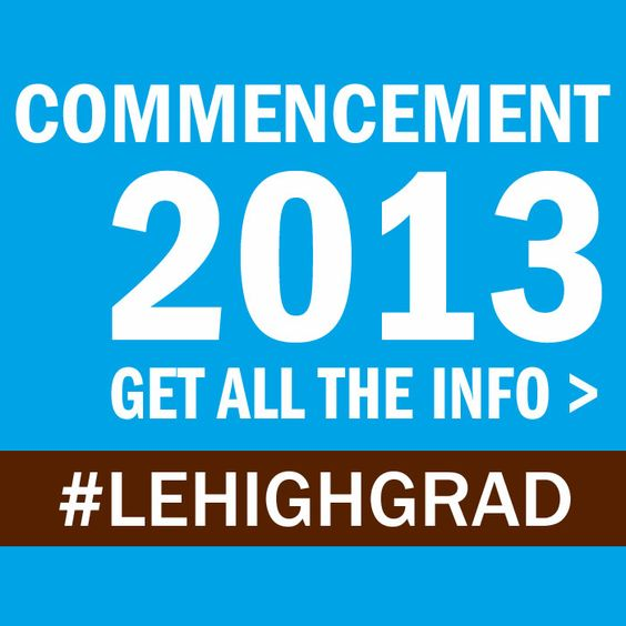 Visiting #LehighU for commencement? Click here for FAQs and info to plan your visit: http://www4.lehigh.edu/about/luevents/events/commencement/family