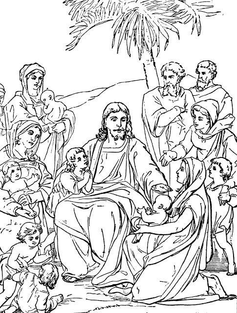 Printable Coloring Pages Of Bible Stories For Preteens