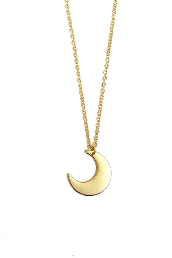 Gold Moonstruck Necklace