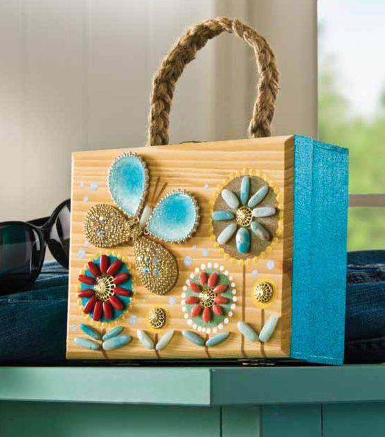 Jo Ann Fabrics And Crafts Mall: DIY Wooden Box Idea