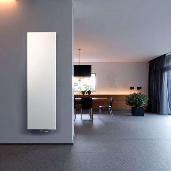 Heizkörper SOLO Der Solo Design-Heizkörper mit flacher und feiner