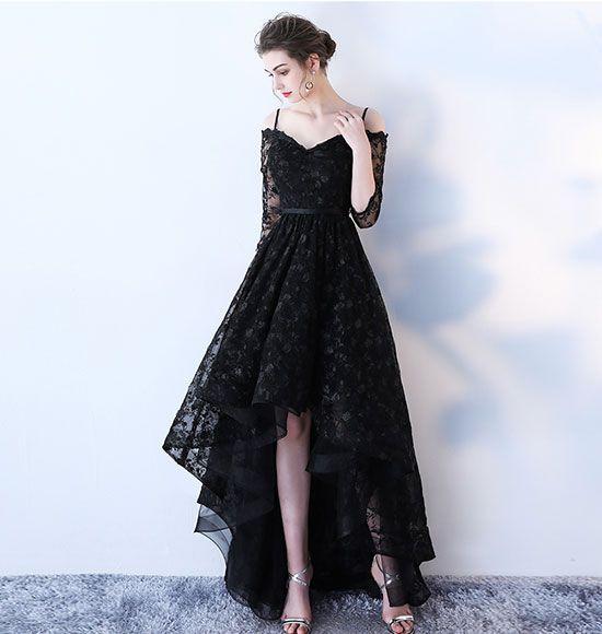 19++ Long high low dress info