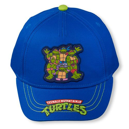 teenage mutant ninja turtles baseball hat turtle toddler boys cap blue shirt the