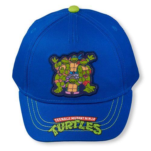teenage mutant ninja turtles baseball hat turtle toddler boys cap blue shirt the