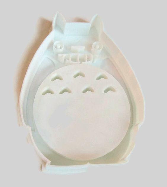 Totoro 3D Printed Cookie Cutter van Fantacland op Etsy, $6.99