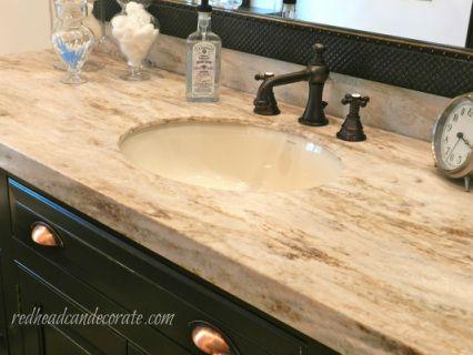 Master Bathroom Is Complete | Master Bathrooms, Corian Countertops And  Countertops