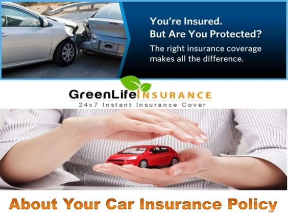 Facts about Car Insurance Policy in India by GreenLife Insurance Broking Pvt. Ltd. via slideshare
