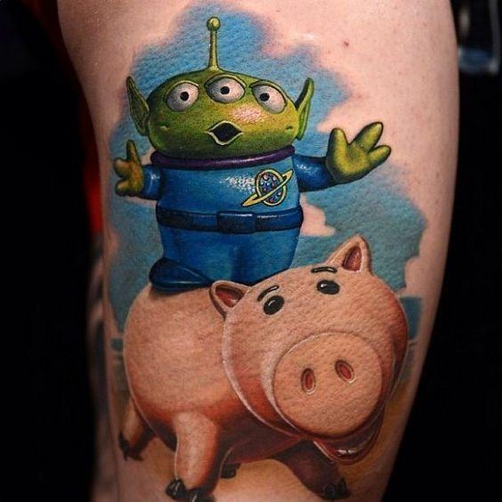 50 inspirações para Tatuagem Disney - GEEKISS