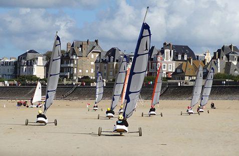 Surfschool Saint-Malo : activités enfants 9-12 ans - char à voile