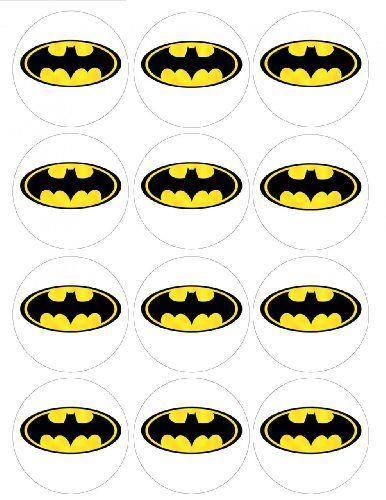 batman logo cake template - batman cupcake topper template isaacs party pinterest