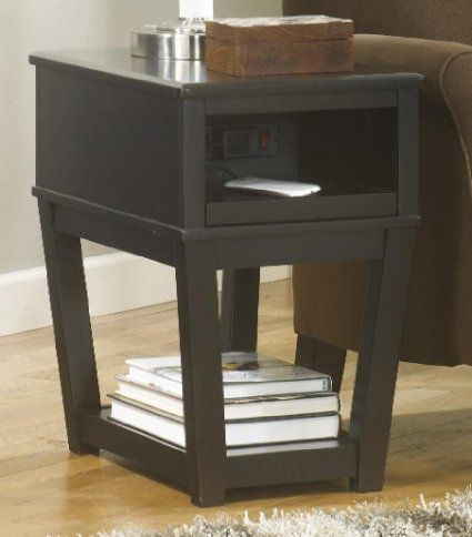 side table w use with table with usb port 133 rob 39 s whitehouse office pinterest side. Black Bedroom Furniture Sets. Home Design Ideas